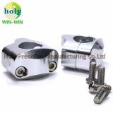 Motorrad-Lenkstange-Schelle für die Aluminiumpräzision CNC maschinelle Bearbeitung