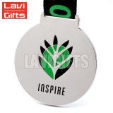 昇進安い賞の記念品のカスタム金によってめっきされる金属ハート形メダル