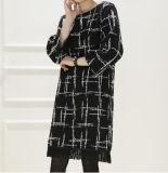 Vestidos de lã ocasionais feitos sob encomenda das mulheres do poliéster