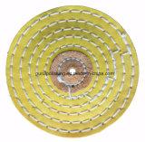 Roda de lustro lustrando de Muslin da borda de faca para o metal
