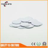 Markering van uitstekende kwaliteit MIFARE Ntag213 20mm van de Schijf RFID van pvc de Plastic voor het Beheer van Activa