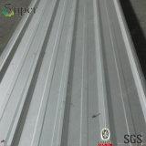 金属の鉄片プロフィールか光沢のあるポリエステルによって側面図を描かれる広がることまたは波形を付けられるシートに屋根を付ける