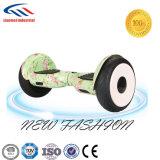 Fabrik-grosser Gummireifen 10 Zoll-Selbst-Balancierender Roller intelligentes Hoverboard UL2272 mit dem blauen Zahn