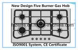 Comitato dell'acciaio inossidabile dei cinque bruciatori con la fresa Jzs808 del gas di sostegno della vaschetta del ghisa