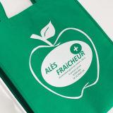 Compras baratas Tote plegable no tejido bolsa reutilizable para supermercado