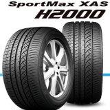 Neumáticos de coche aprobados del certificado del alcance, neumáticos de la polimerización en cadena y neumáticos del vehículo de pasajeros