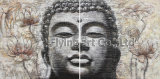 Buddha 유화 벽 장식 그룹