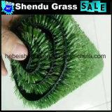Cor verde artificial de grama da grama 10mm da decoração da parede