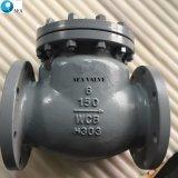 Extremo de la brida de acero inoxidable de giro sin retorno Nrv la válvula de retención para el medio ácido oleoducto