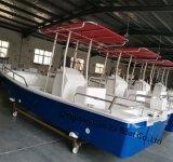 Liya 25 футов 10 лиц роскошь двигатель из стекловолокна рыболовного судна вентиляции салона