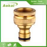 Adattatore d'ottone d'ottone del colpetto dell'ugello di spruzzatura del montaggio del connettore del tubo flessibile