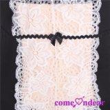 Venta al por mayor blanca en existencias más la ropa interior atractiva de las señoras atractivas de la talla