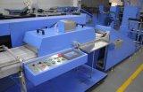 Одиночная одежда цвета связывает печатную машину тесьмой экрана с большой производя емкостью