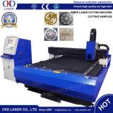 Fibra de alta velocidad de la máquina de corte láser para metal