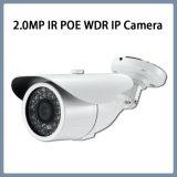 caméra de sécurité extérieure de télévision en circuit fermé de remboursement in fine d'IP IR Poe de 2.0MP WDR