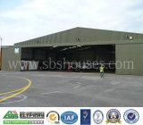Estrutura de aço de construção em aço Hangar