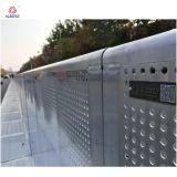 Barreiras de segurança retráteis de alumínio