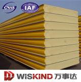 El panel de emparedado de PU/Polyurethane para los materiales de la pared y de la azotea