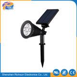 Solar-LED Punkt-Beleuchtung Soem-24V 6h für Rasen