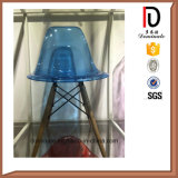 Diversa silla transparente de cena plástica más nueva de la barra de colores de la silla