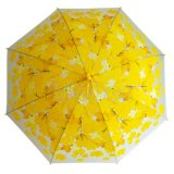 Напечатанный зонтик Poe кленового листа прозрачный
