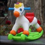 Carro de cavalo simples novo surpreendente do balanço do estilo com música