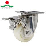 PP de acero inoxidable para trabajo pesado de la rueda rueda
