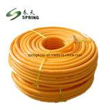 Haute résistance en PVC renforcé de fibre flexible de pulvérisation