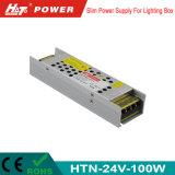 24V 4Um transformador LED 100W AC/DC Fonte de alimentação Comutação Has
