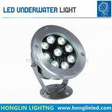 9W LED Lámpara de submarino de agua para piscina
