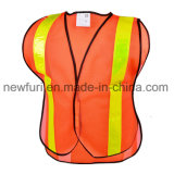 Vest van de Verkeersveiligheid van het Jasje van de Stof van het Netwerk van de Polyester van 100% het Weerspiegelende
