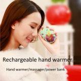 Mini réchauffeur rechargeable électrique de main du Portable USB avec le rouleau-masseur pour le chauffage