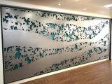 علاوة نوعية مسحوق يكسو [ستينلسّ ستيل] زخرفيّة شاشة وجدار فنية