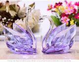 De nieuwe Trendy Zwaan van het Kristal van de Gift van de Terugkeer van de Levering van de Partij van de Gunst van het Huwelijk van Producten Kleurrijke