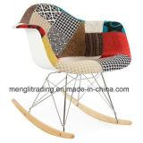 Cadeira de tecido moderno estilo Eames