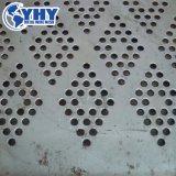 Rete metallica perforata della maglia rivestita del metallo della polvere