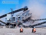 Planta do triturador de impato do minério da mineração