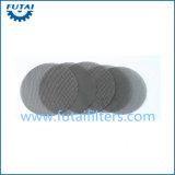 304 pantallas de acoplamiento de alambre del filtro del acero inoxidable para el hilado del polímero