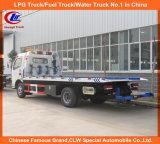 De mini Vrachtwagen van Wrecker van het Slepen van de Weg van het Type van JAC 4X2 2tons Flatbed