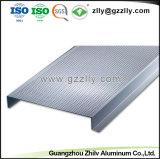 Material de decoração elegante em forma de H tira de alumínio falso
