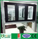 Ventana plegable de aluminio de Pnoc080921ls con diseño simple