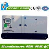 generador diesel silencioso estupendo insonoro de 160kw Hongfu con el motor de Perkins