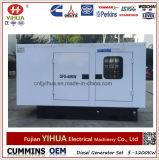 conjunto de generador diesel silencioso de 40kw/50kVA Lovol con ATS (25-200kVA/20-160kw)