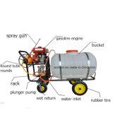 100L 200L 300L Balde Pulverizadores Hand-Propelled Máquina de neblina de água da bomba de sprinklers Gasolion do Pulverizador