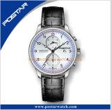 Relógio do cronógrafo de Subdial do movimento de Multfunction com serviço do OEM & do ODM