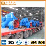 De elektrische of Diesel Gedreven Hoge Pomp van de Irrigatie van het Geval van het Tarief van de Stroom Industriële Gespleten