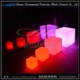 LLDPE Matériau Moulage par rotation Plastique LED Meuble avec BV