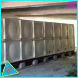 Réservoir de stockage sectionnel de l'eau de fibre de verre de SMC FRP GRP pour la commande de tir