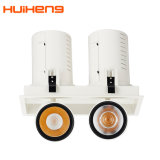 Recessed LED 35W*2 Dimmable Roasts Spotlight