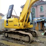 Excavatrice de KOMATSU PC200-7 d'excavatrice hydraulique utilisée de chenille à vendre